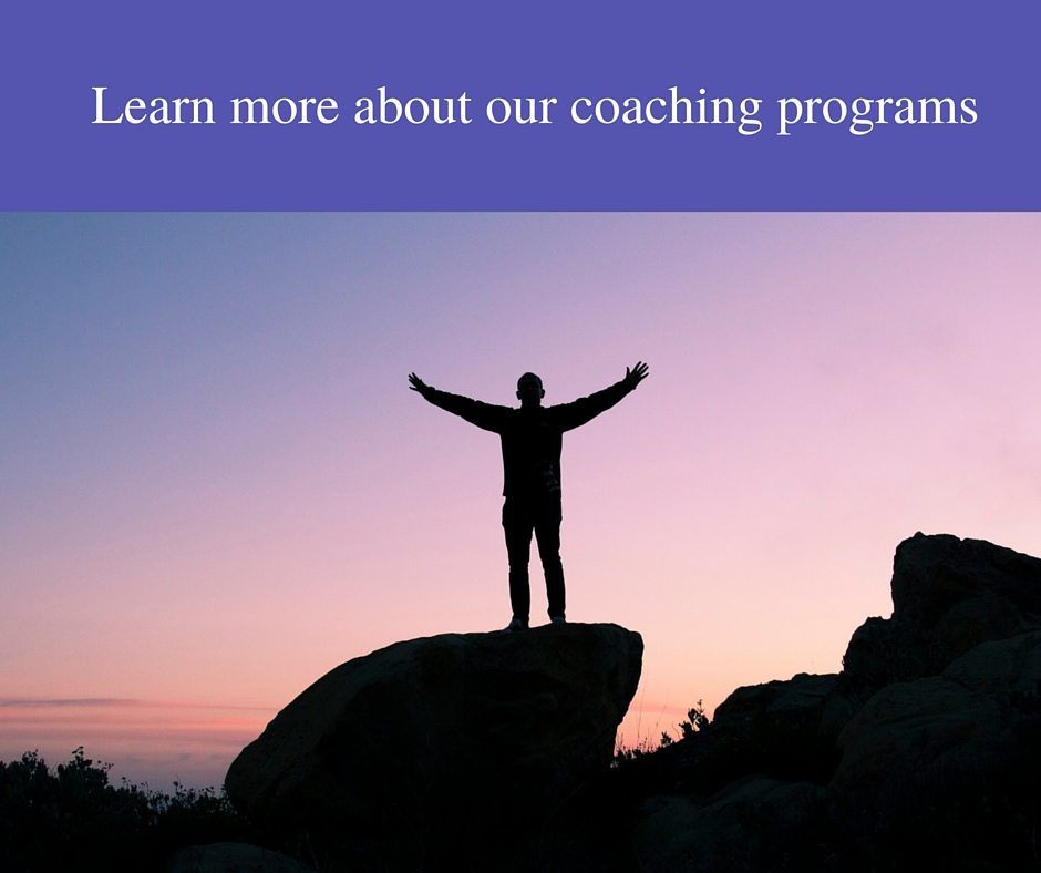 Learn more about our coaching programs